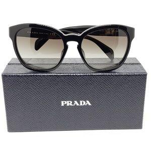 Prada Sunglasses Black w/Gery